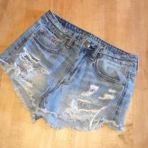 Hi-Rise Festival Jean Shorts~ Excellent Condition